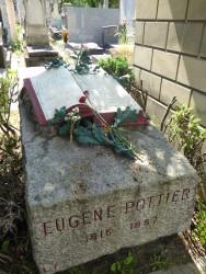 Sépulture Eugène Pottier – Cimetière du Père-Lachaise – Paris (75020)