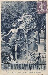 Les Lauriers, ou Le Lot-et-Garonne à ses enfants illustres – Agen (fondu)