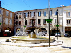 Vasque-fontaine – Place Lafayette – Villeneuve-sur-Lot