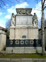 Sépulture Aguado – Cimetière du Père-Lachaise – Paris (75020)