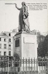 Monument à l'abbé de L'Epée – Versailles