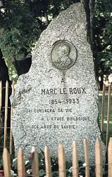 Monument à Marc Le Roux – Annecy