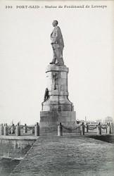 Monument à Ferdinand de Lesseps – Port-Saïd (statue déplacée)