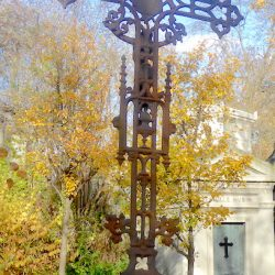 Croix de la sépulture Charbonnet – Cimetière du Père-Lachaise – Paris (75020)