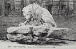 Lion et serpent – Saint-Etienne (disparu)