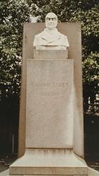 Monument à Eugène Livet – Place Eugène Livet – Nantes (fondu et remplacé par de la pierre)