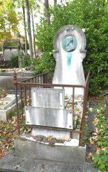 Médaillon de la sépulture Adolphe Maurice Bizet – Cimetière du Père Lachaise – Paris (75020)