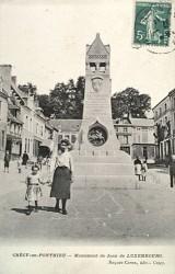 Monument à Jean de Luxembourg – Crécy-en-Ponthieu