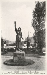 Monument à Jeanne Maillotte – Lille