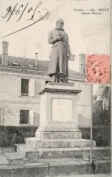 Monument au docteur Majour – Brive-la-Gaillarde (fondu)