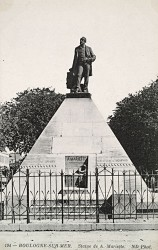 Monument à Mariette-Bey – Boulogne-sur-Mer