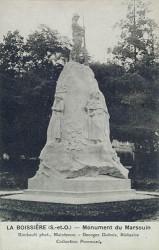Monument du Marsouin – La Boissière-L'Ecole