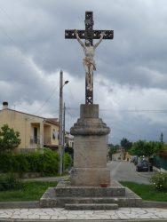 Christ en croix – Croix de mission – Pignans