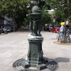 Fontaine Wallace – Place Maurice-Chevalier – Paris (75020)