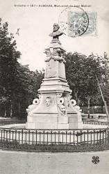 Monument à Jean Mathon – Aubenas