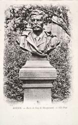 Monument à Guy de Maupassant (fondu) (remplacé) – Rouen
