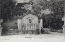 Fontaine Médicis, ou Monument à Pierre de Bourdeille – Brantôme