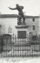 Monument au capitaine Ménard – Lunel