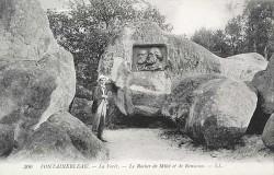 Médaillon de Millet et Rousseau – Barbizon