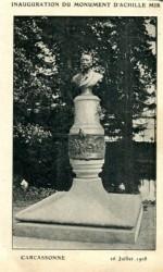 Monument au poète Achille Mir – Carcassonne (fondu)