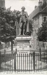 Monument à Gaspard Monge – Beaune
