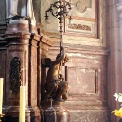 Anges candélabres – Basilique Notre-Dame de l'Immaculée Conception – Boulogne-sur-Mer