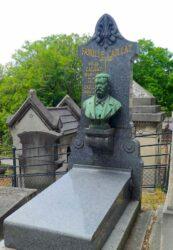 Buste de Félix Caillat – Cimetière du Père Lachaise – Paris (75020)