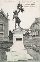 Monument aux soldats et marins de l'arrondissement de Saint-Nazaire – Square du souvenir Français – Saint-Nazaire