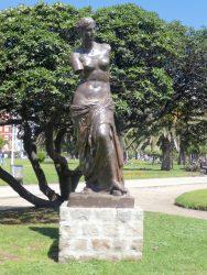 Statue de la Vénus de Milo – Plaza Colón – Mar del Plata