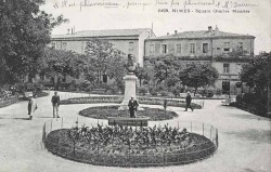 Monument à Charles Mourier – Nîmes (fondu)
