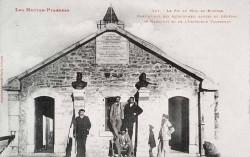 Le général de Nansouty et l'ingénieur Vaussenat – Bagnères-de-Bigorre