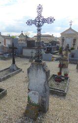 Croix de cimetière – Saint-Étienne-de-Tulmont