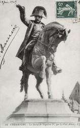 Monument à Napoléon – Place Napoléon – Cherbourg
