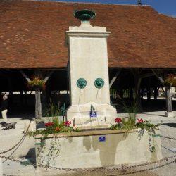 fontaine des voyageurs  piney