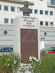 Monument à Ferdinand Farjon – Boulogne-sur-Mer