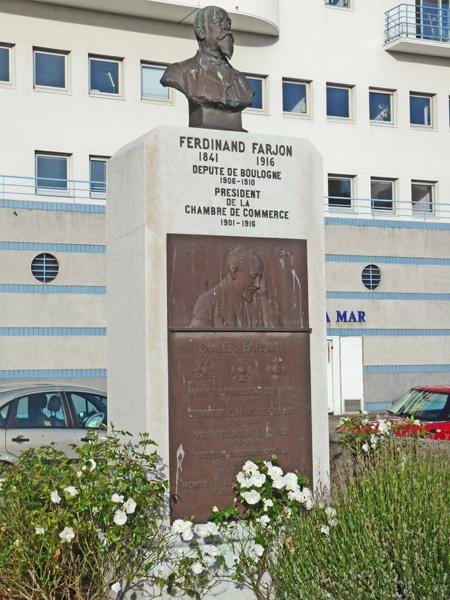 monument ferdinand farjon boulogne sur mer