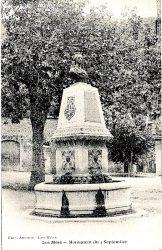 Buste du monument aux Insurgés de 1851 (Fondu) (Remplacé) – Les Mées