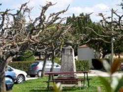Monument au lieutenant Palice – Cancon (fondu) (remplacé)
