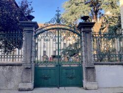 Grilles et portail du lycée Jean Puy- Roanne