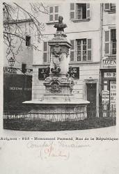 Monument à Paul Pamard – Avignon (fondu) (remplacé)