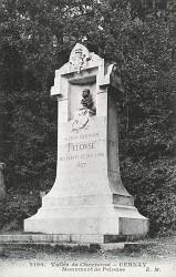 Monument à Léon Germain Pelouse – Cernay-la-Ville