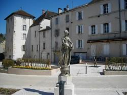 Statue – Orgelet (volée)