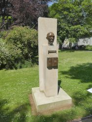Monument à Stefan Zweig – Jardin du Luxembourg – Paris (75006)
