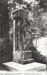 Monument à Louis Pergaud – Parc Micaud – Besançon