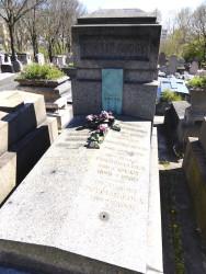 Tombe de la famille Gougy – Cimetière du Père Lachaise – Paris (75020)