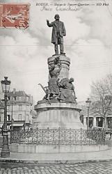 Monument à Pouyier-Quertier – Rouen