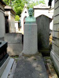 Buste de Philippe d'Elson – Cimetière du Père Lachaise – Paris (75020)