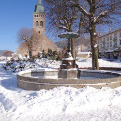 Fontaine – Place de l'Église – Gérardmer