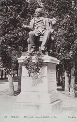 Monument à Edgar Quinet – Bourg-en-Bresse (fondu)