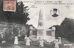 Monument à l'adjudant Réau – Naintré